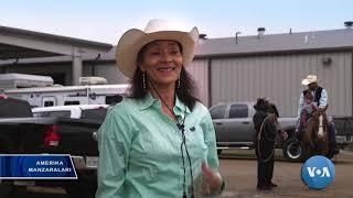 Rodeo: Ot va buqa minib maydonga chiqish irq tanlamaydi