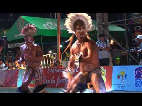 Puku Rangi Tea de Rapa Nui en Carnaval de Arica Con la fuerza del sol