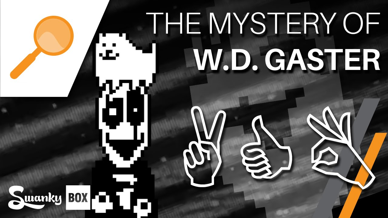 Undertale The Mystery Of W D Gaster Youtube
