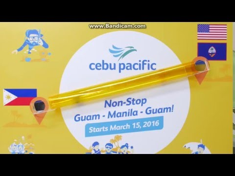 From: Guam To: Manila NOW SERVING!