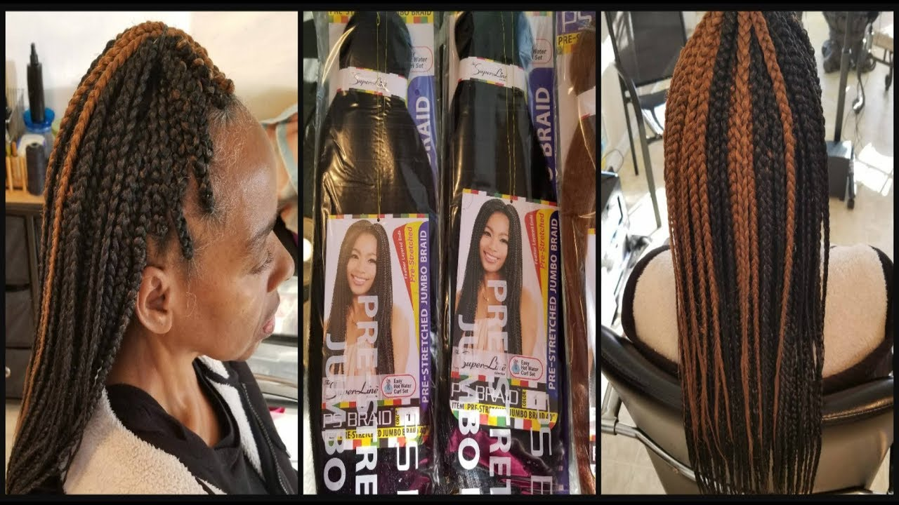 Superline Collection Ps Braiding Hair Review Youtube