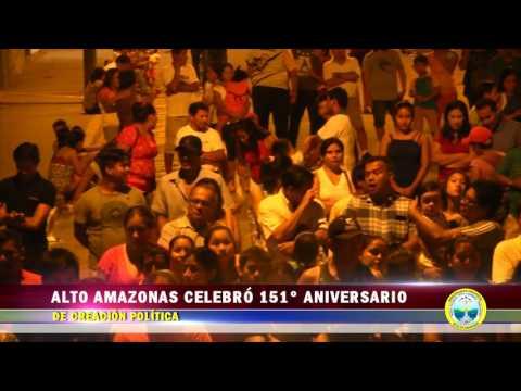 INFORME 151° ANIVERSARIO DE LA PROVINCIA DE ALTO AMAZONAS