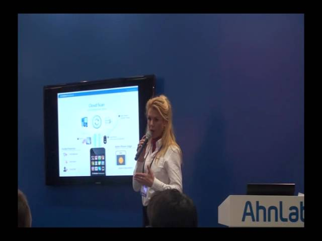 AhnLab at RSA 2012: V3 Mobile