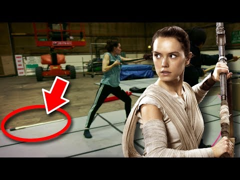 Star Wars The Last Jedi - 10 Things From Behind-The-Scenes Trailer