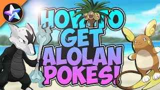 HOW TO GET ALOLAN POKEMON! - Pokemon Brick Bronze