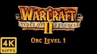 Warcraft II: Tides of Darkness Walkthrough | Orc Level 1
