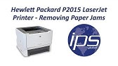 How to Fix Printer Hp laserjet P2015d - YouTube