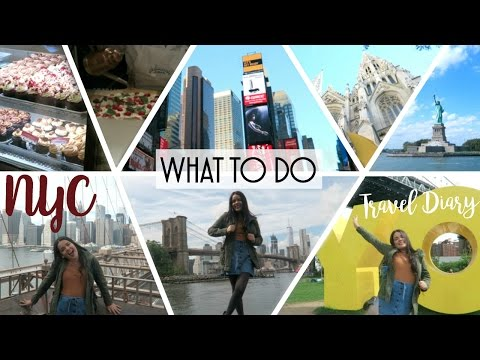TOP THINGS TO DO IN NEW YORK: NEW YORK CITY TRAVEL DIARY!