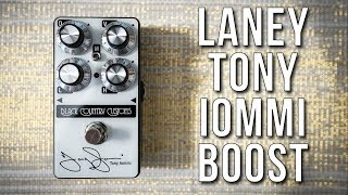 HOW GREAT is the Laney Tony Iommi Boost???