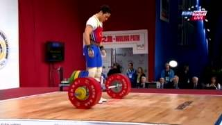 Мужчины 69 кг Толчок ЧМ-2013