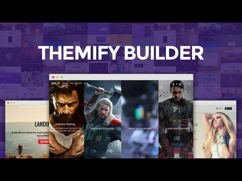 Themify Builder - Overview