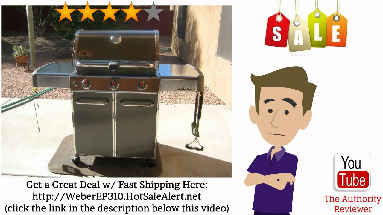 weber genesis ep 310 gas grill review discount sale youtube. Black Bedroom Furniture Sets. Home Design Ideas