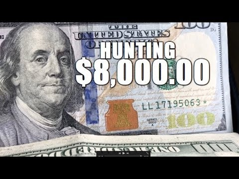 Hunting $8,000.00 In Hundred Dollar Bank Notes For Star Notes & Fancy Serial Numbers