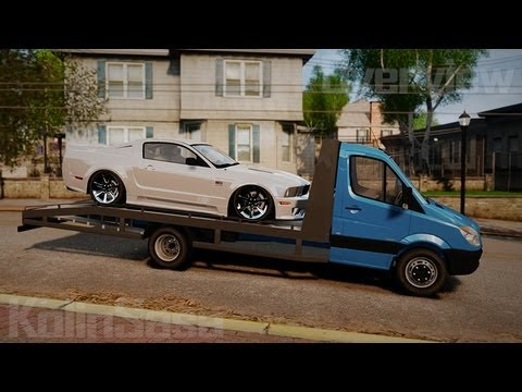 gta 4 eflc mercedes benz sprinter 3500 car transporter. Black Bedroom Furniture Sets. Home Design Ideas