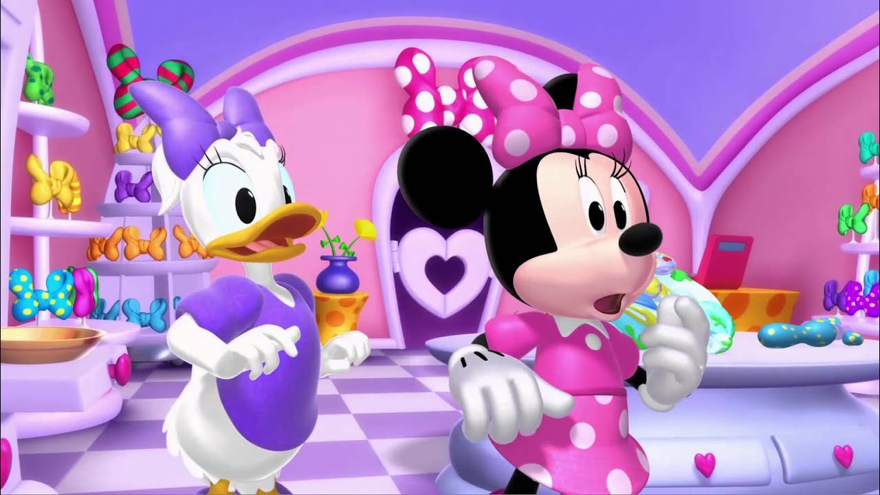 mickey mouse clubhouse minnies valentines day youtube