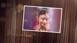 Gold Wedding Title download | wedding title golden title | after effect | Free downlod
