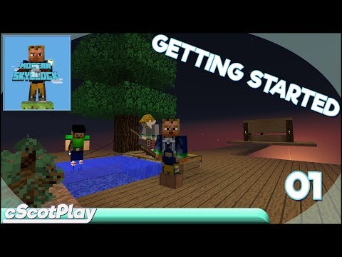 Modern Skyblock 2 w/ cScot – Ep 01: Getting Started - Let's Play/Walkthrough