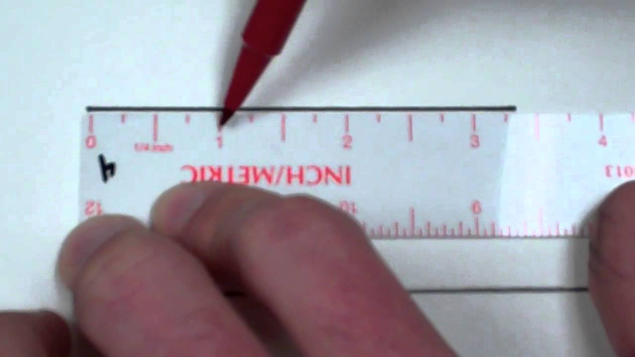 Ich Cm Measure Nearest Quarter Inch And Cm - Youtube
