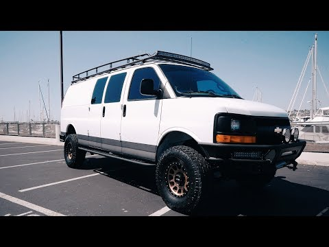 Chevy Express Van Reveal, building a cargo van into a camper