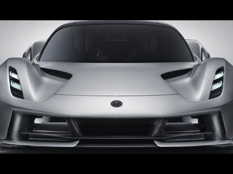 2000 HP Lotus Evija  the first all-electric British hypercar most powerful series production roadcar