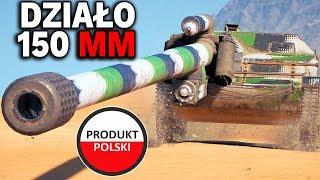 POLSKI TKS Z DZIAŁEM 150 MM !!! - World of Tanks
