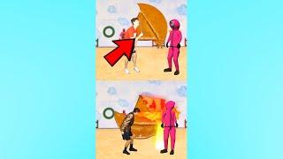 HONEYCOMB SQUID GAME CHALLENGE! 😂 #shorts