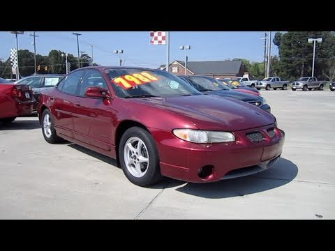 2002 Pontiac Grand Prix Gt Start Up Exhaust And In Depth Tour Youtube