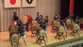 飛鳥太鼓 滝三100周年 組太鼓