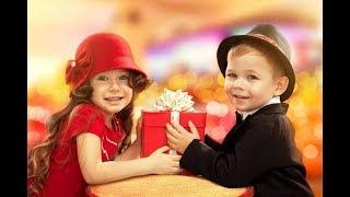 С Днем Святого Валентина! Детская песня 'Валентинки' и красивое видео!