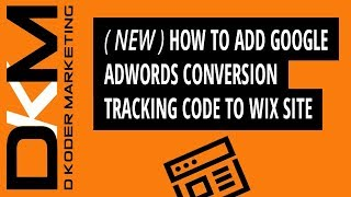 How to Add Google AdWords Conv…