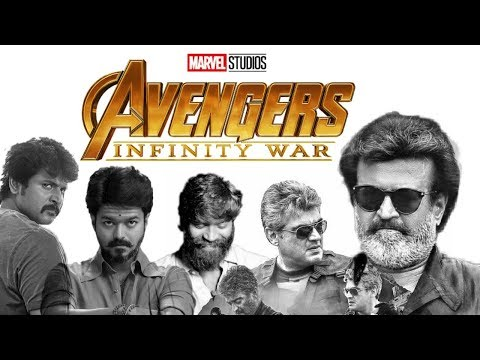 Marvel studios' Avengers : infinity war trailer | Tamil version | south Indian star mix | fan made