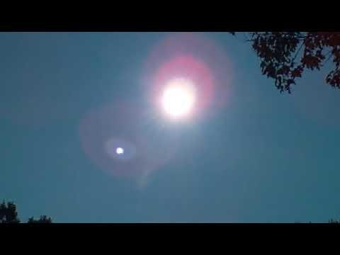Freaking Out Pulsating Sun in SPLENDORA , TEXAS
