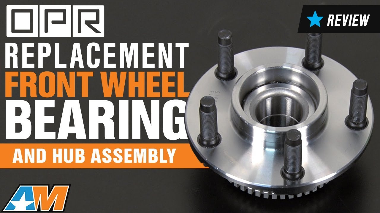 19942004 Mustang Replacement Front Wheel Bearing and Hub Assembly w ABS Ring Review  YouTube