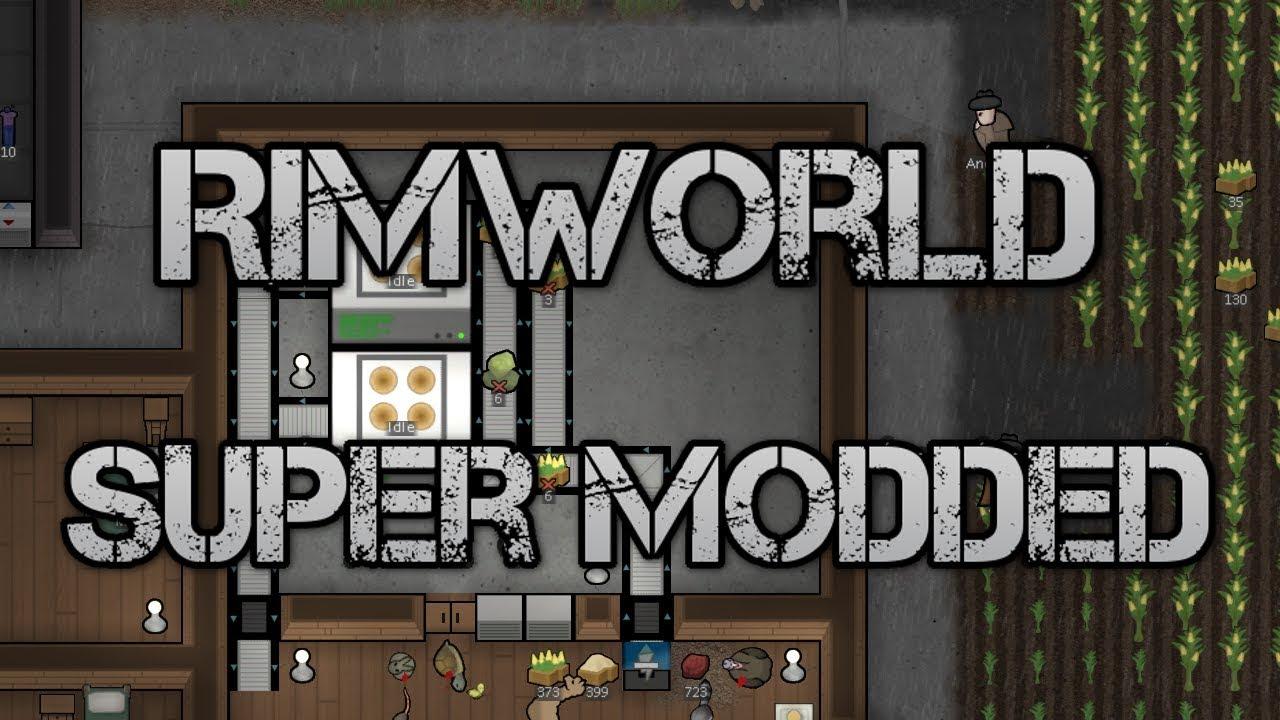 [47] Building The New Farm | Rimworld Super Modded B18