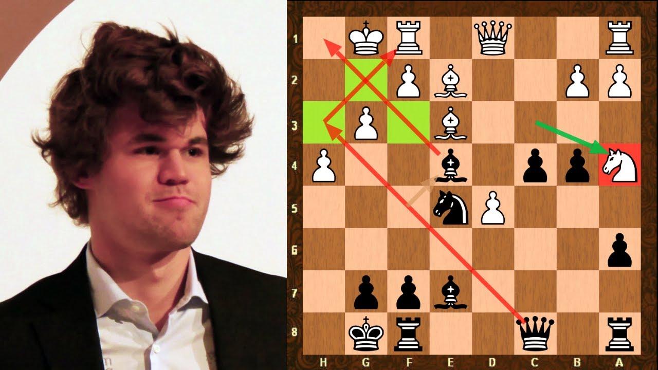 Magnus Carlsen punishes materialism beautifully vs Karjakin to paralyse  Alphazero & Kasparov style