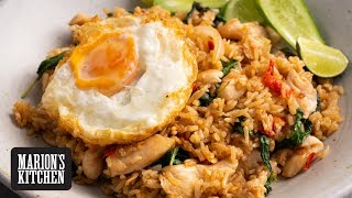 Spicy Thai Chicken Fried Rice - Marion's Kitchen