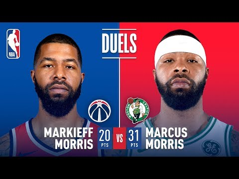 There's A Morris Twins Family Feud in Double OT In Boston (VIDEO)
