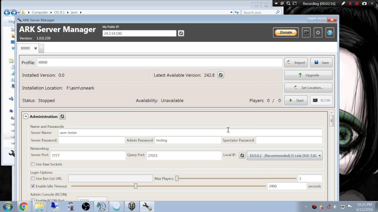ASM Profile failed to load FIX