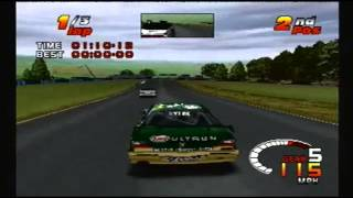 TOCA 2 Touring Car Challenge PS1: Test Track (Long)