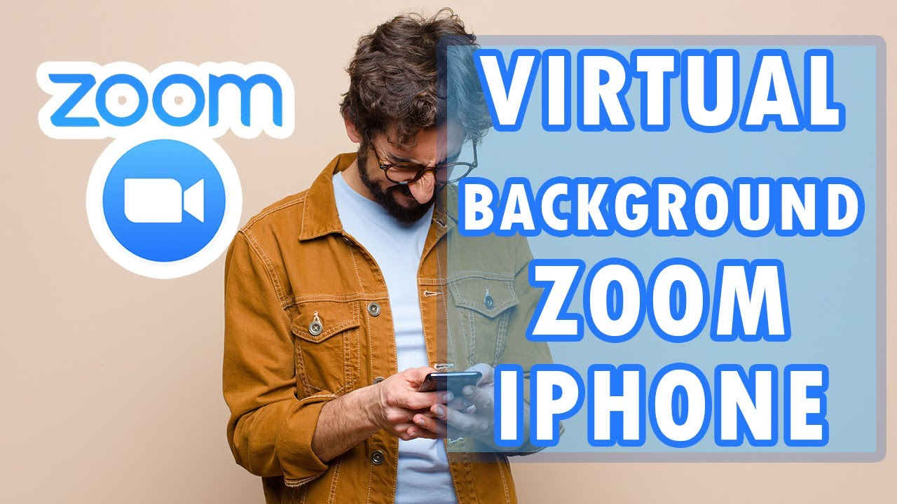 How To Use Background On Zoom For Iphone Tutorial Youtube
