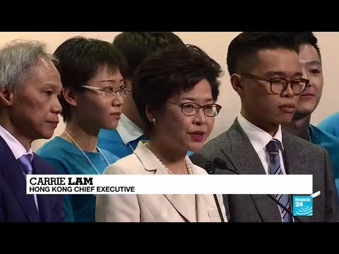 Hong Kong's Carrie Lam fights for her job after push to fast track extradition bill