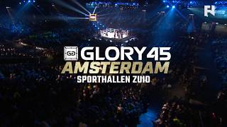 GLORY 45 Amsterdam LIVE Sat., Sept. 30 at 1 p.m. ET on FN Canada