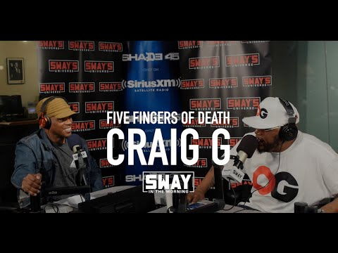 Craig G Freestyles Over 5 Fingers of Death on Sway in the Morning!