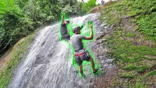 Fizemos Rapel Na Cachoeira Da Macumba !