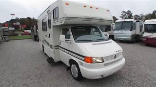 2002 Winnebago Vista 21B Mini Class C, Volkswagen Chassis , 37K MIles, Gen, 20 MPG, Rare, $26,900