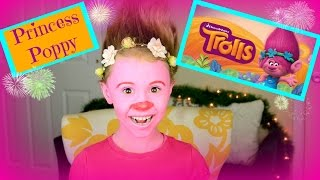 Trolls Princess Poppy Makeup Tutorial