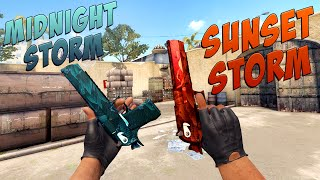 CS:GO - Desert Eagle | Sunset Storm & Midnight Storm Gameplay