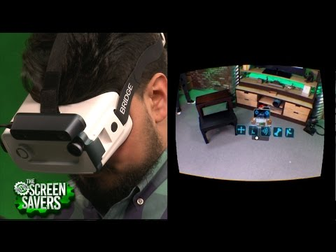 The New Screen Savers 87: Mixed Reality Headset for iPhone