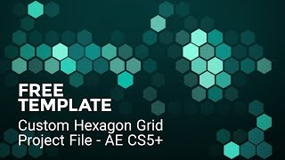 Video Free Hex Grid - After Effects Freebie download MP3, 3GP, MP4, WEBM, AVI, FLV November 2017
