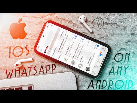 Latest IOS WhatsApp For Android // IPhone SE WhatsApp For Android  🔥